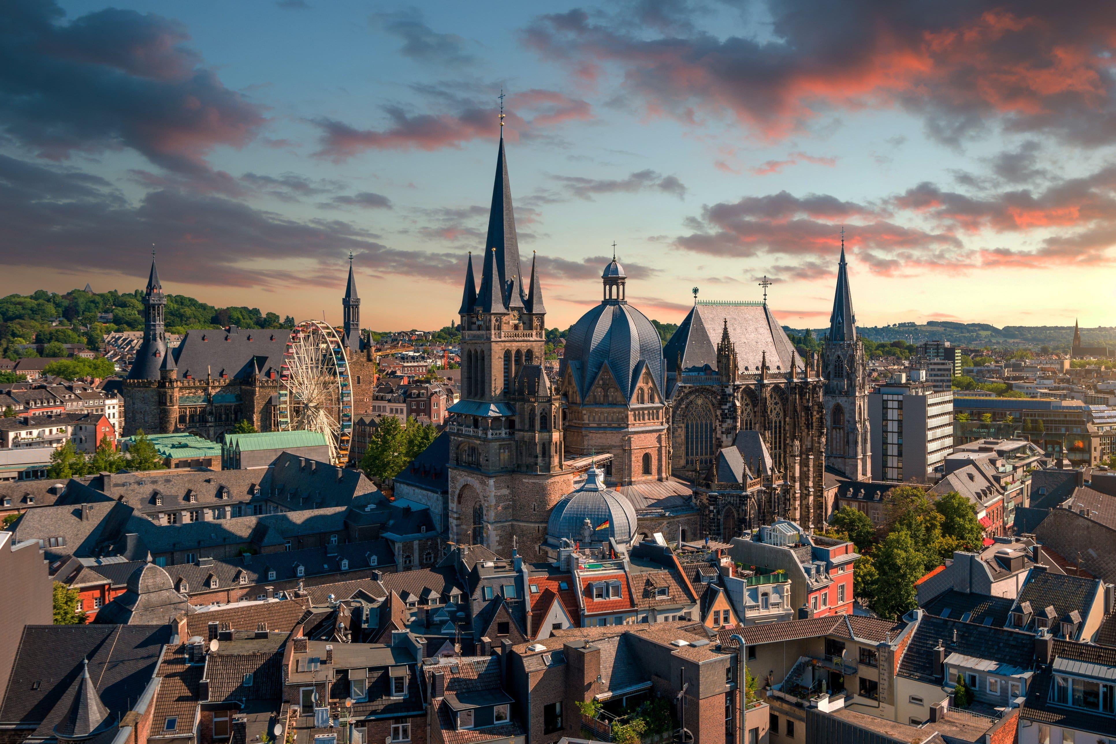 Die Kaiserstadt Aachen. Hier wurde Petermachtpause gegründet