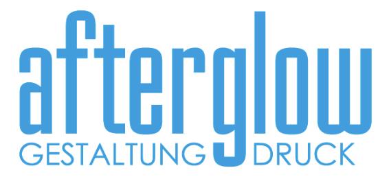 Afterglow Werbeagentur Digitaldruckerei